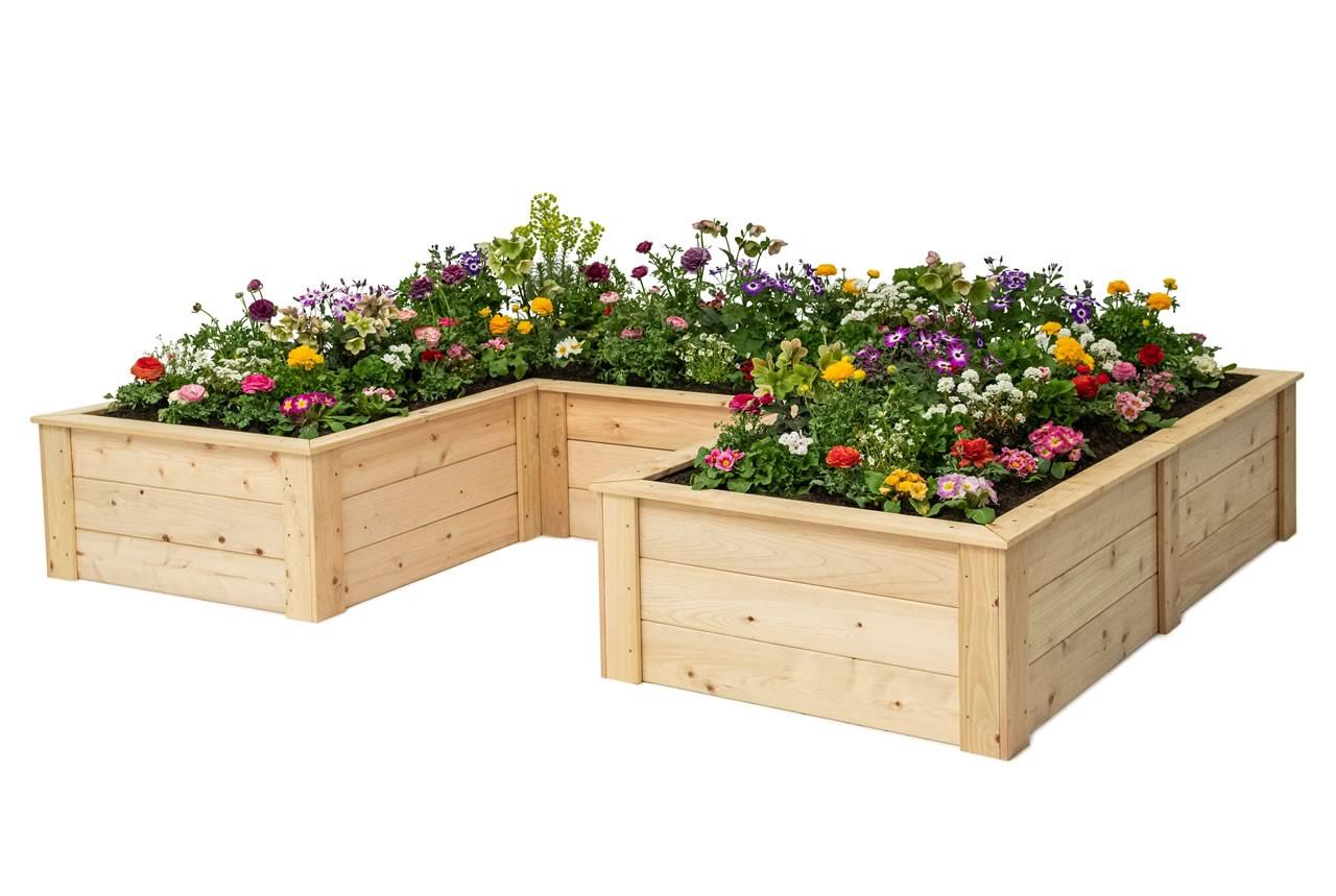 u shaped raised beds naturalyards com