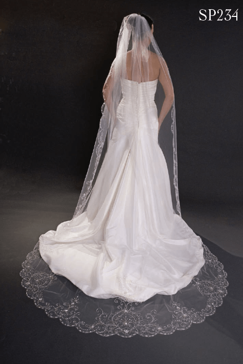Giselle Bridal Veils – Bella Mera Bridal Boutique