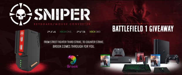 Sniper Keyboard and Mouse Combo