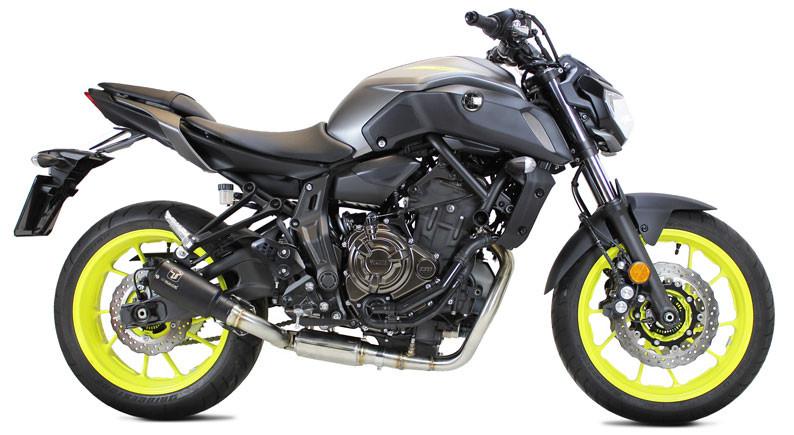 ixrace mk2 black full exhaust yamaha mt