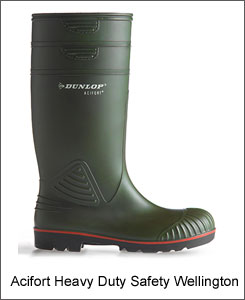 Hoggs of Fife Dunlop Acifort safety wellington