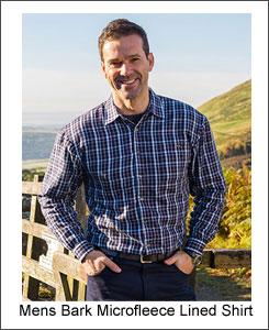 Hoggs bark fleece lined shirt