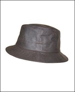 Hoggs of Fife waxed bush hat