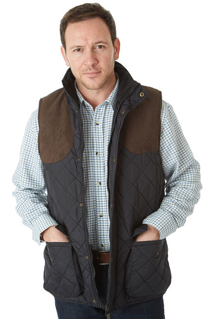 Sherwood Forest Preston Quilted Gilet