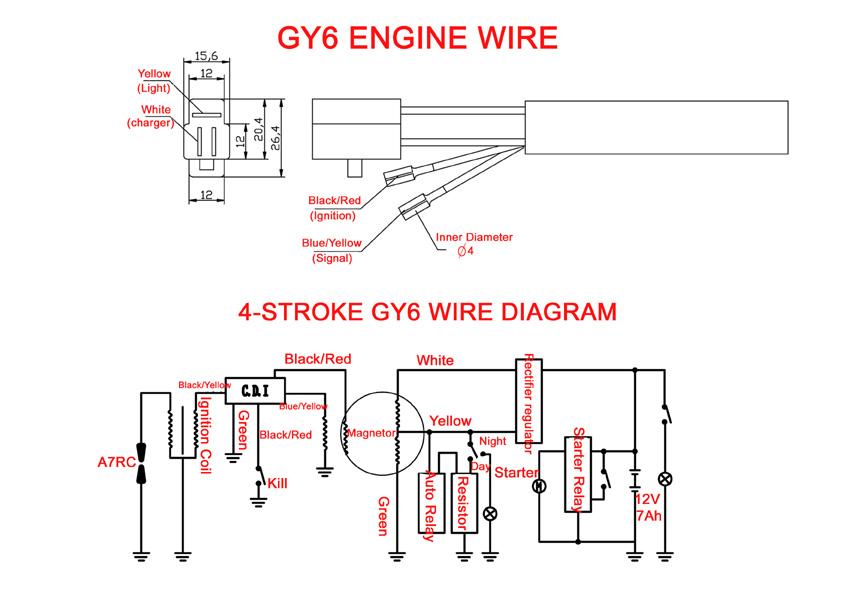 Gy6 Racing Cdi Wiring Diagram   Online Wiring Diagram