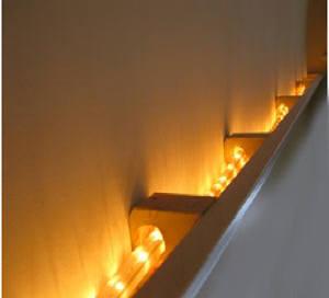 indirect lighting in foam crown molding