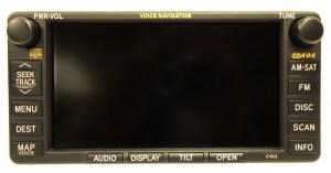 E7002 2004 2005 2006 Lexus ES330 Navigation Radio Screen