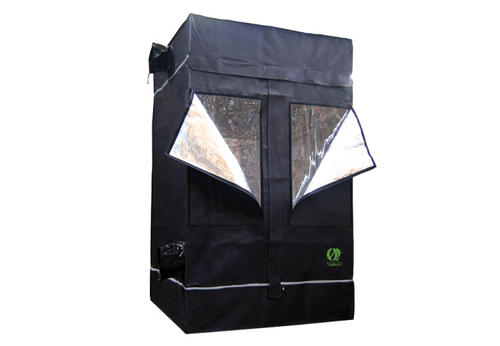 The GrowLab With The Ventilation Fan, Lighting System And
