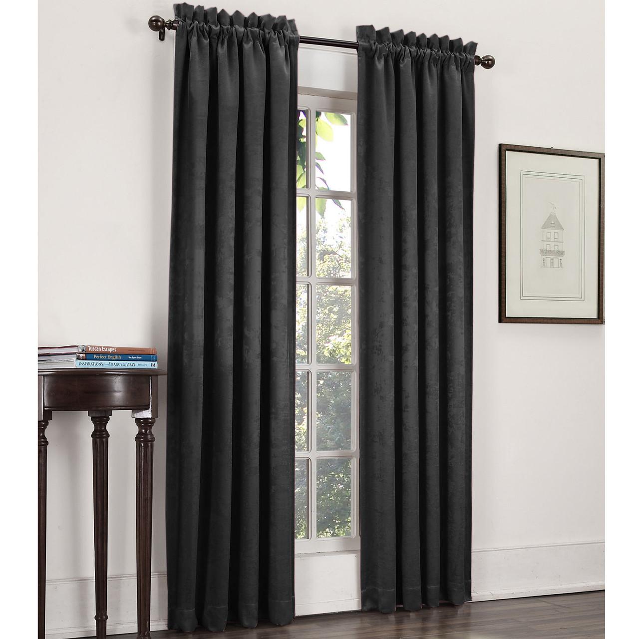 cassara rod pocket blackout curtain