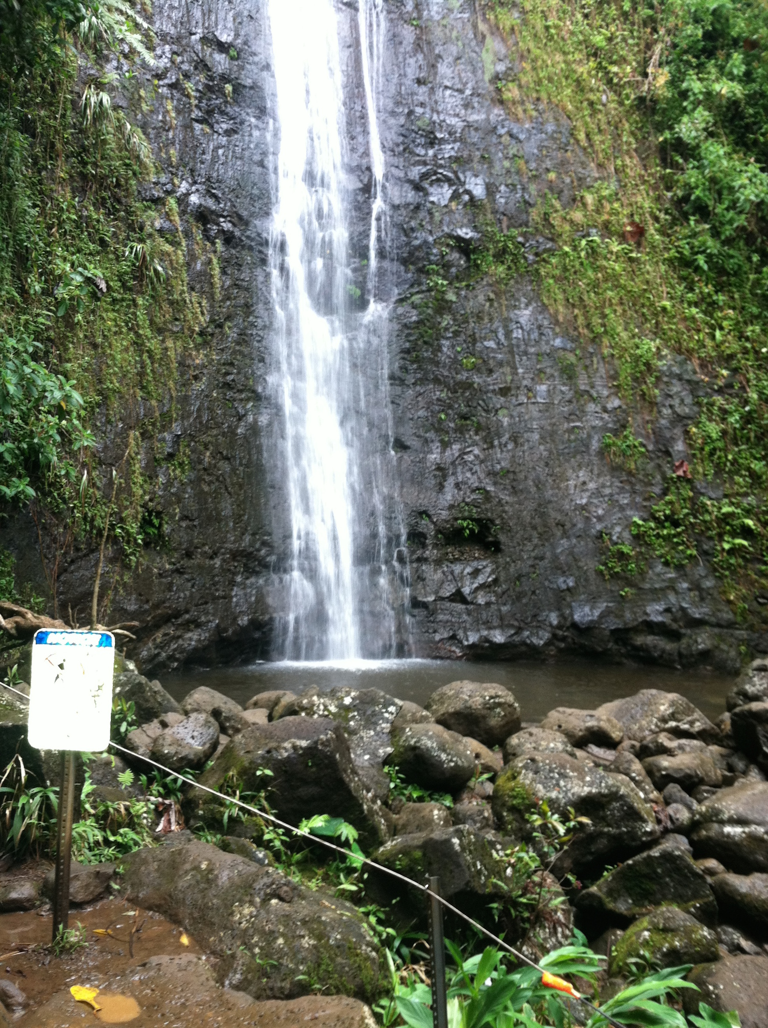 Manoa Falls, Honolulu, Oahu, Hawaii