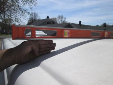 Roof high point - huge gap