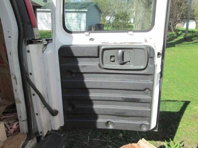 Rear passenger, covered