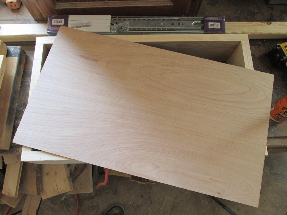 Plywood cut