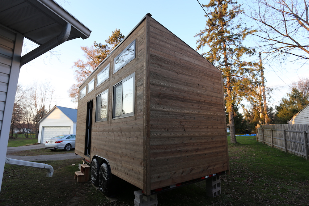 Tiny House: Siding