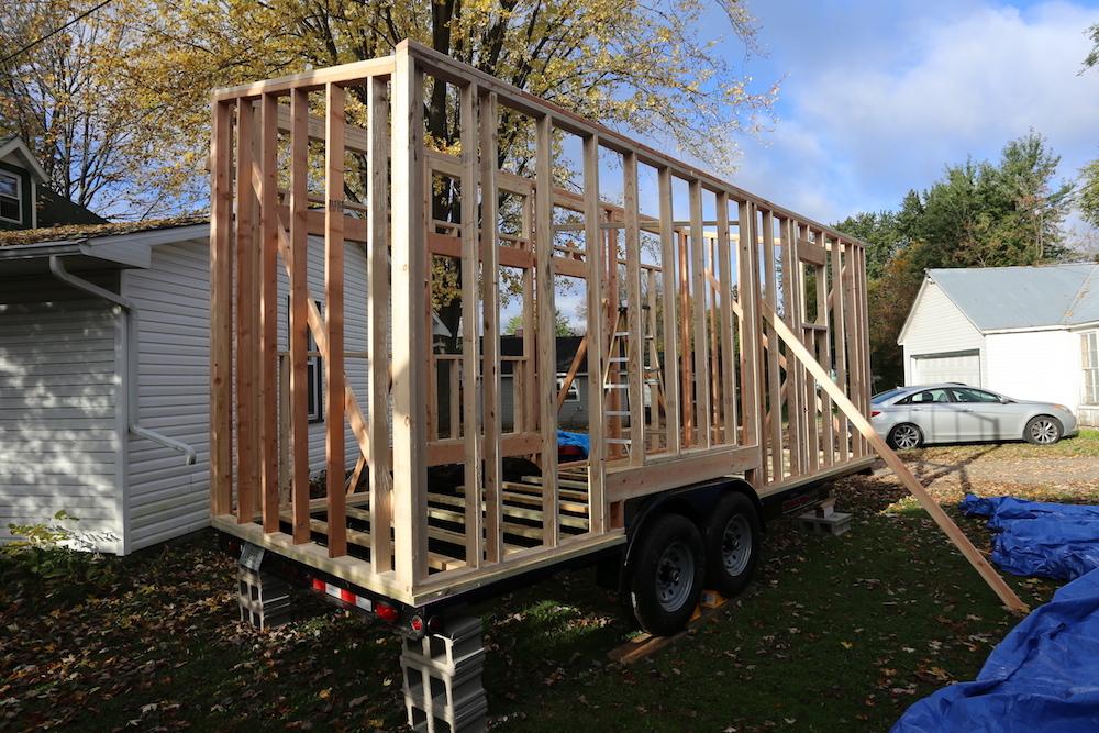 Tiny House: Building the Frame