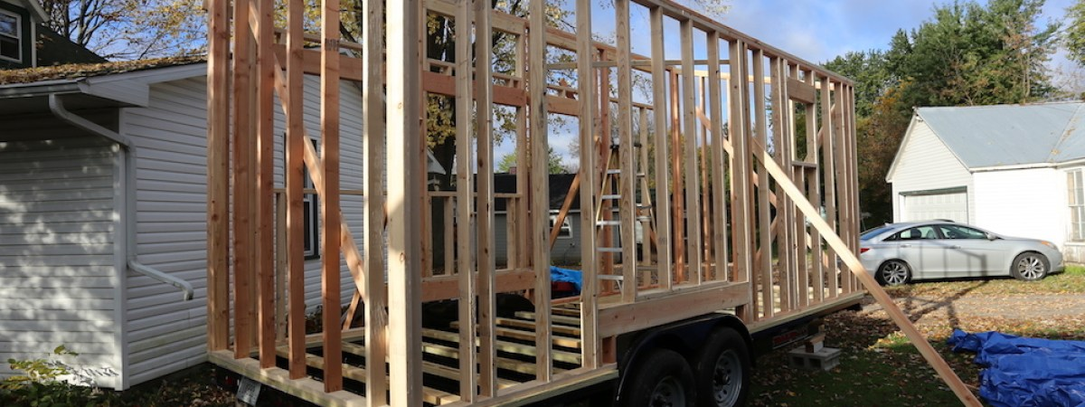 Tiny House: Building the Frame