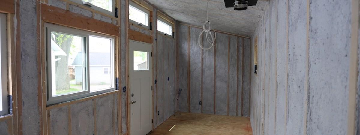 Tiny House: Insulation