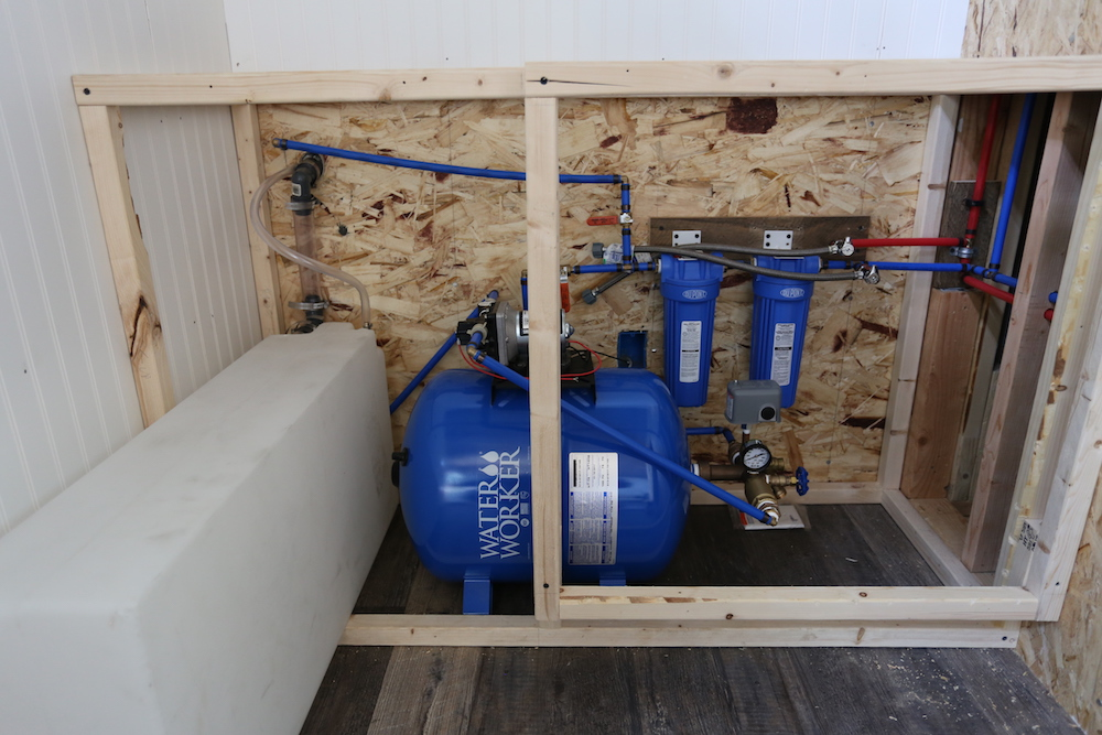 tiny house water system. Tiny House: Pressurized Water System House S