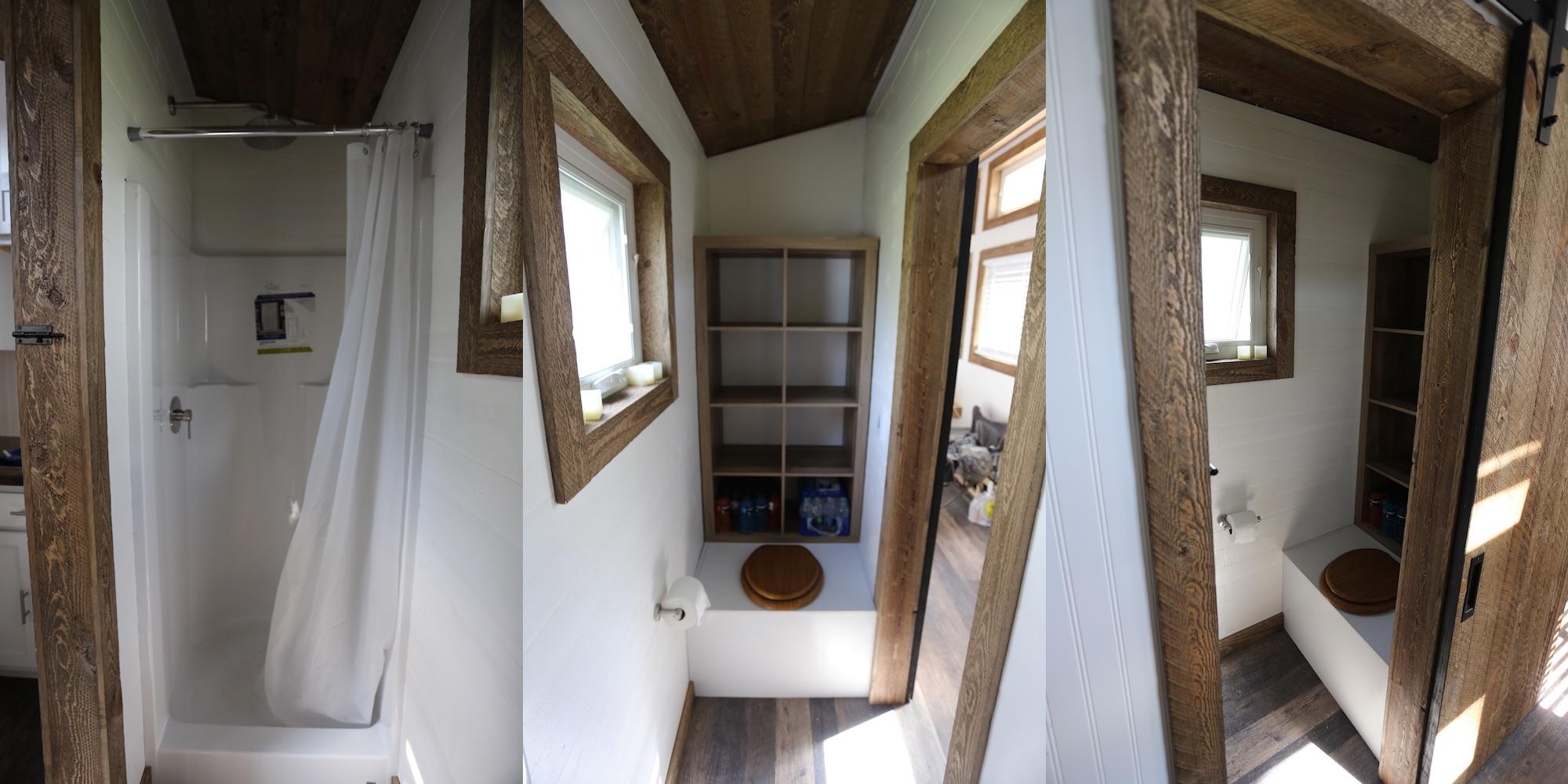 Tiny House: Bathroom