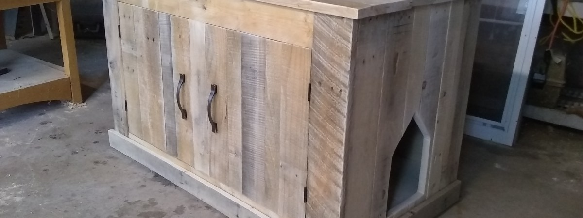Cat Crapper (Litter Box Cabinet)