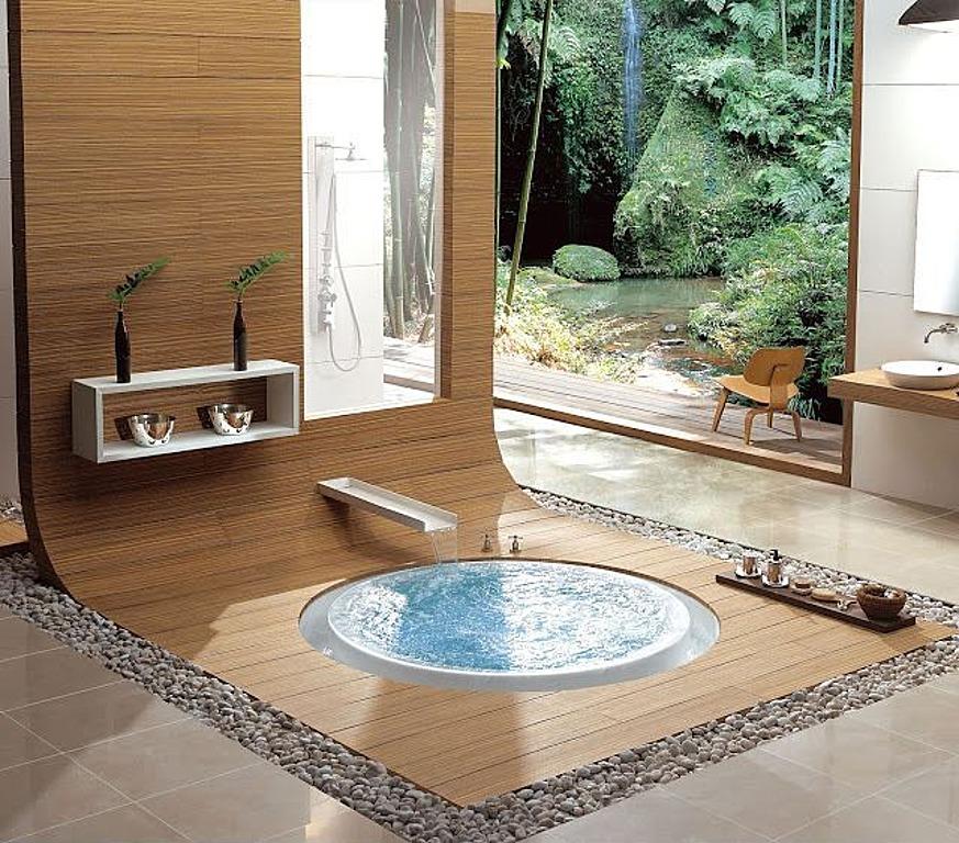 Contemporary Bathtub 1