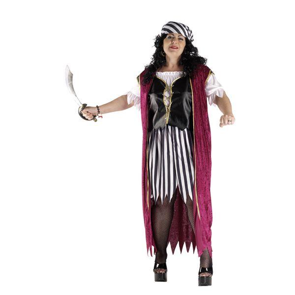 deguisement pirate velours grande taille femme