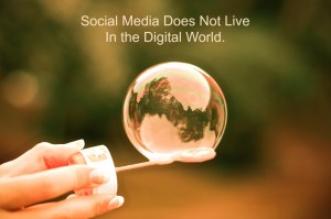 Social Media Does Not Live In the Digital World. image SM Live Digital World Header