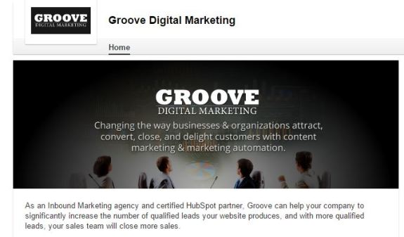groove company linkedin page