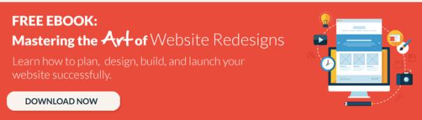 website redesign ebook cta
