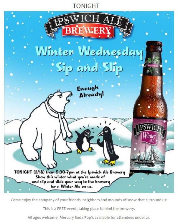 Seasonal - Ipswich Ale