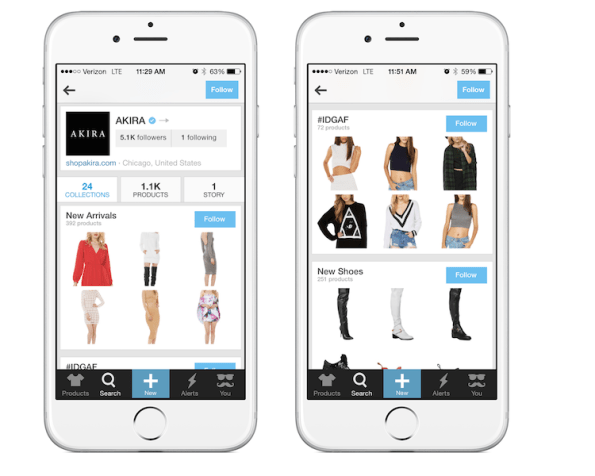 wanelo-best-practices-akira-bigcommerce-collections