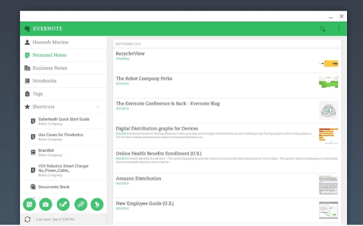 evernote plugin for marketers