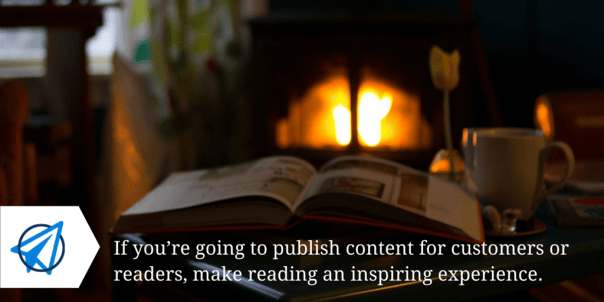 Inspiring Reading Experience 02 - Open Sky Copywriting