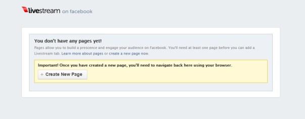 Facebook livestream apps