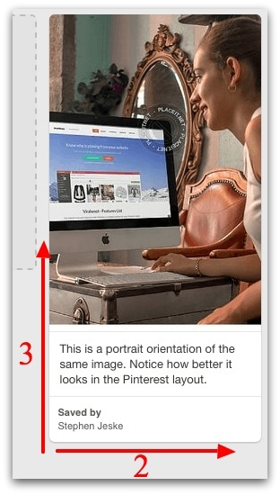 aspect ratio for Pinterest pin