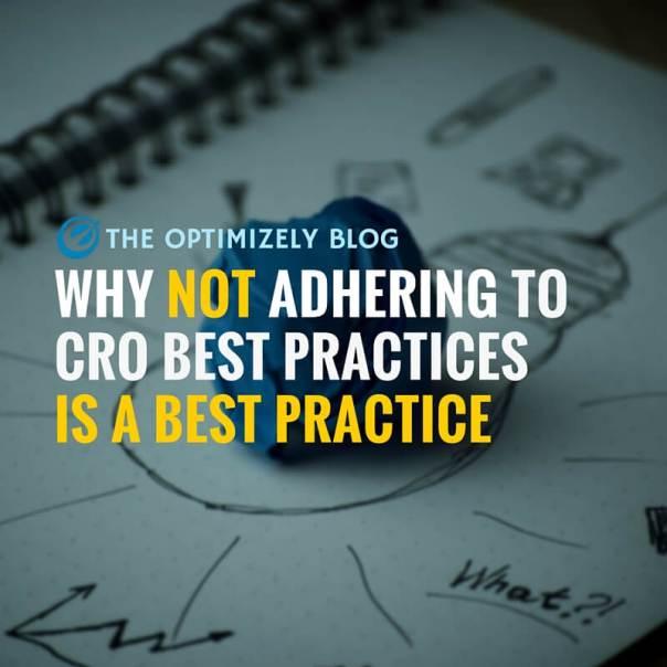 CRO best practices