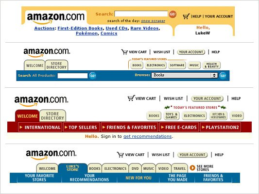 Amazon Simple Tabs
