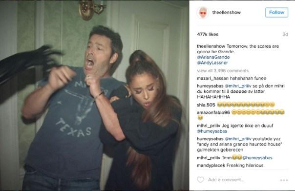 The Ellen Show Instagram Tease