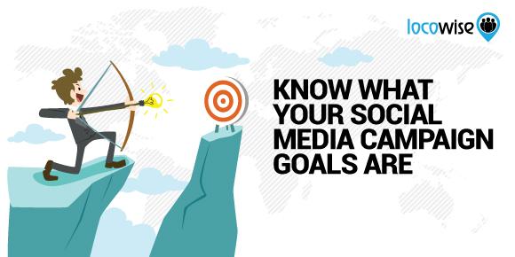 Social media campaign goals