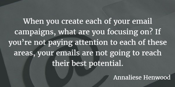 Email marketing campaign upgrades article quote