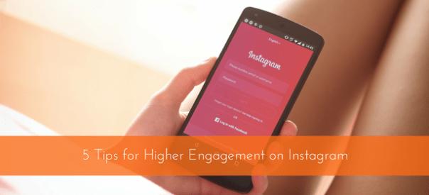 higher engagement on Instagram