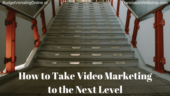 'How to Take Video Marketing to the Next Level' Are you struggling with your video marketing efforts? In this blog, I have some tips for you to take your company's video marketing to the next level. First, I share 7 secrets that will make your video marketing successful. Then, I discuss the various places on your website where you can use video. Finally, I talk about interactive video as it is the next step in video marketing and yields good results. Read the blog here: http://bit.ly/VMNextLevel