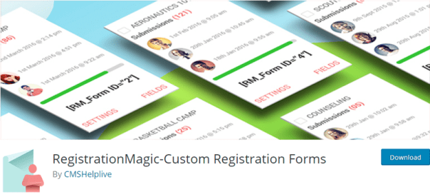 custom registration plugins for WordPress registration magic