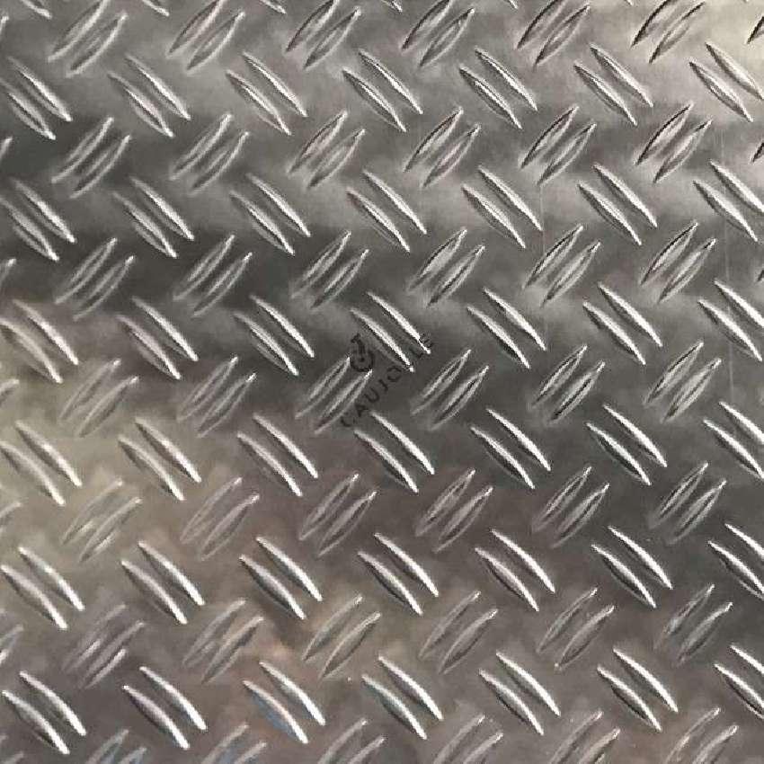 made to measure non slip polished aluminium sheet