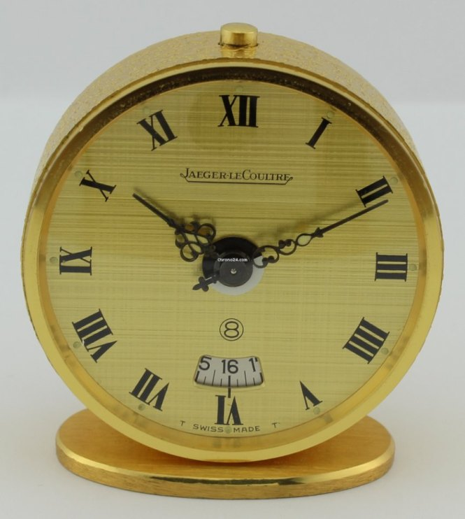 Jaeger Lecoultre Clock With Automatic