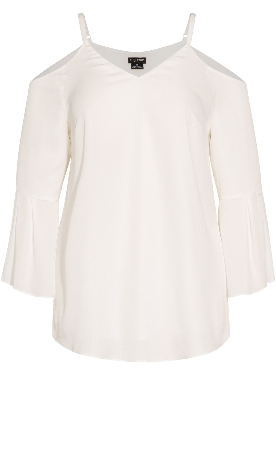 Simple Bell Top - cream 6