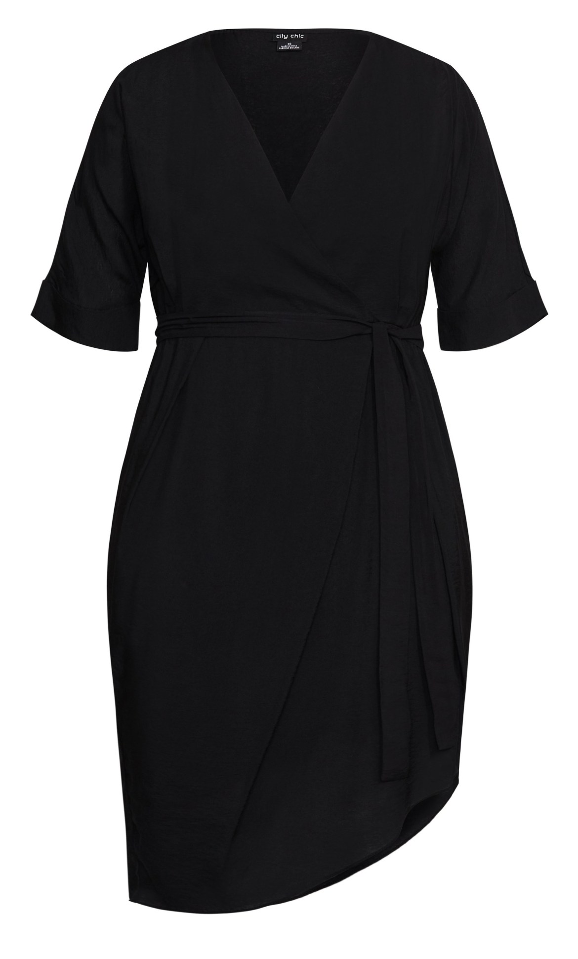 Asymmetrical Dress - black 9