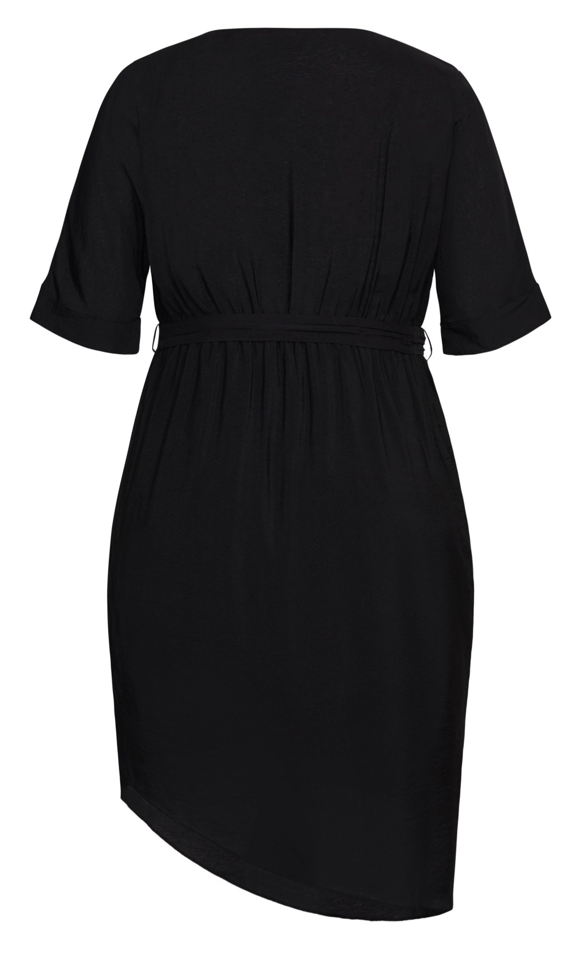 Asymmetrical Dress - black 10