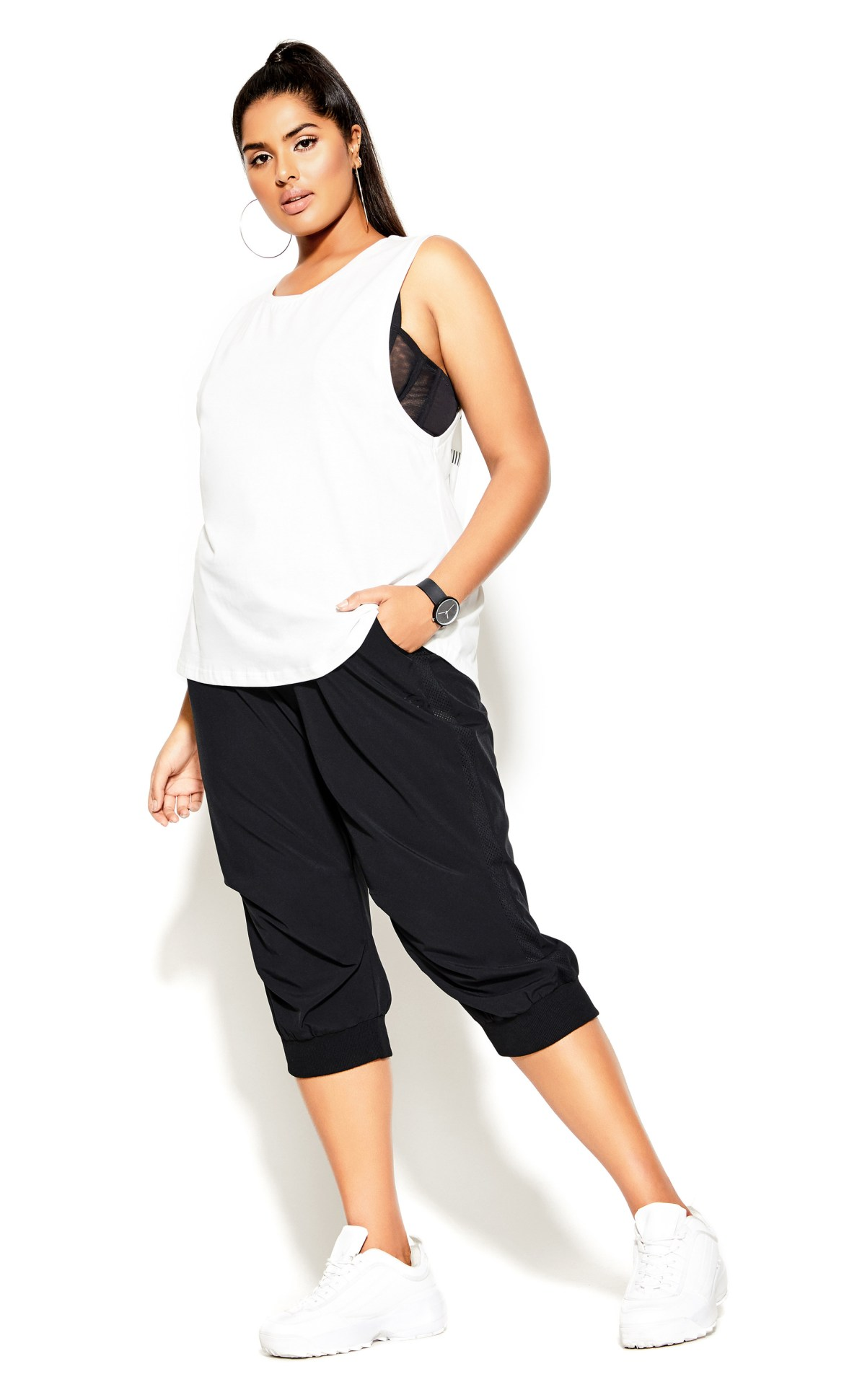 Active Tank Top - ivory 4