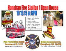 Hanahan Fire Week Open House 2015